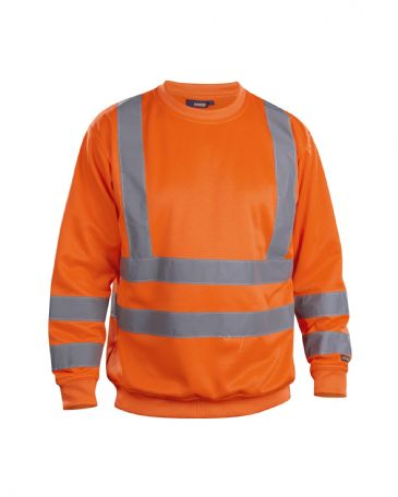 Blaklader 3341 Sweatshirt High Vis (Orange)